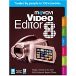 Movavi Video Editor 8 Personal Edition MVE8PE-ESD