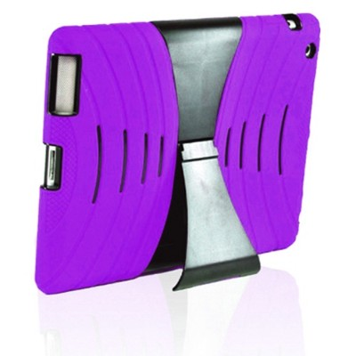 AeroVoice iPad Protective Case - Purple (CAS-IP3RUGPP)