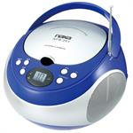 NAXA NPB251BL PORTABLE CD PLAYER WITH A