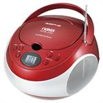 NAXA NPB252RD PORTABLE CD/MP3 PLAYER WI