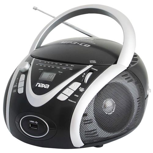 Naxa Electronics NAXA NPB246 PORTABLE CD/MP3 PLAYER WITH