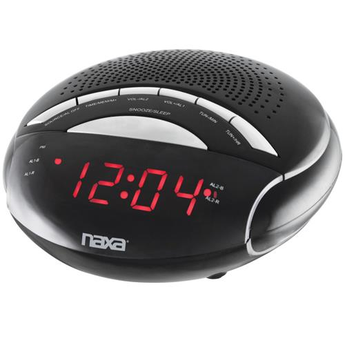 Naxa Electronics NAXA NRC170 DIGITAL ALARM CLOCK WITH AM