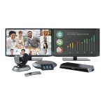 Icon 600 - Dual Display video conferencing kit - with  Phone Second Generation and Camera 10x