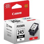 PG-245 XL High Capacity Black Ink Cartridge for PIXMA MG2522, MG2525, MG2922, MG2924, MG3020, MG3029, MX490, MX492, TS202, TS302, TS3120