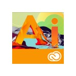 Adobe Illustrator CC - Multiple Platforms - Multi NorthAmerican Language - Licensing Subscription - Annual - 1 User 65224685BA01A12