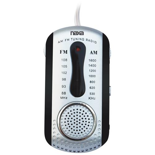 Naxa Electronics NAXA NR721BK AM/FM MINI POCKET RADIO WI