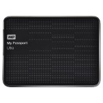 1TB My Passport Ultra USB 3.0 Portable External Hard Drive with Auto Backup - Black