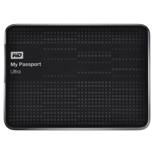 WD 1TB My Passport Ultra - Black