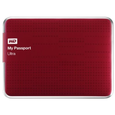 WD 1TB My Passport Ultra - Red (WDBZFP0010BRD-NESN)