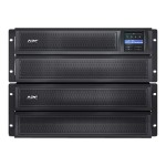 Smart-UPS X 3000 Rack/Tower LCD - UPS (rack-mountable / external) - AC 230 V - 2700 Watt - 3000 VA - Ethernet 10/100, RS-232, USB - output connectors: 10 - 4U - black - with  UPS Network Management Card AP9631