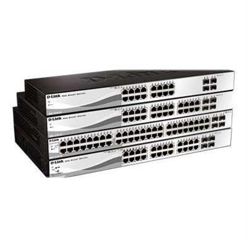 D-Link Web Smart DGS-1210-20 - switch - 16 ports - managed - desktop, rack-mountable