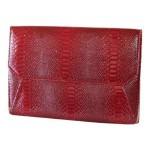 Francine Collections Lexington Avenue Snake - Protective sleeve for tablet - faux leather - red