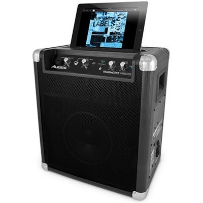 Alesis Wireless Portable Powered Bluetooth Speaker System with USB Charging Port and Rechargeable Battery (TRANSACTIVE WIRELESS)