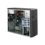Supermicro SC732 D4F-903B - Mid tower - extended ATX 900 Watt - black - USB/FireWire/Audio