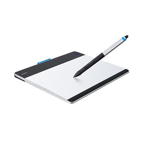 Wacom Intuos Pen & Touch Small (Black/Silver) - Digitizer (CTH480) with free Creative Starter Kit  ($50 BonusValue)