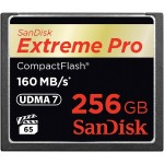 Extreme Pro - Flash memory card - 256 GB - 933x/1067x - CompactFlash