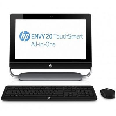 HP ENVY 20-d010 Intel Pentium G870 3.10GHz TouchSmart All-in-One Desktop PC - 4GB RAM, 500GB HDD, 20