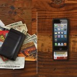 Commuter Wallet Case for iPhone 5/5s - Black
