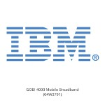 IBM GOBI 4000 Mobile Broadband 04W3791