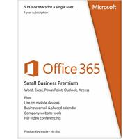 Microsoft Office 365 Small Business Premium Mac/Win (Electronic Software Download Version) AAA-04580-ESD