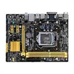H81M-A - Motherboard - micro ATX - LGA1150 Socket - H81 - USB 3.0 - Gigabit LAN - onboard graphics (CPU required) - HD Audio (8-channel)