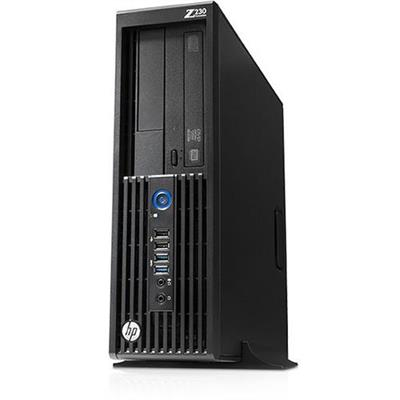 HP Smart Buy Z230 Intel Core i7-4770 Quad-Core 3.40GHz Small Form Factor Workstation - 8GB RAM, 500GB HDD, SuperMulti DVD, Gigabit ...