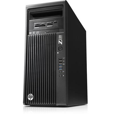 HP Smart Buy Z230 Intel Xeon Quad-Core E3-1245v3 3.40GHz Tower Workstation - 8GB RAM, 500GB HDD, SuperMulti DVD, Gigabit ...