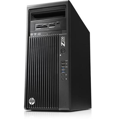 HP Smart Buy Z230 Intel Xeon Quad-Core E3-1225v3 3.20GHz Tower Workstation - 8GB RAM, 500GB HDD, SuperMulti DVD, Gigabit ...
