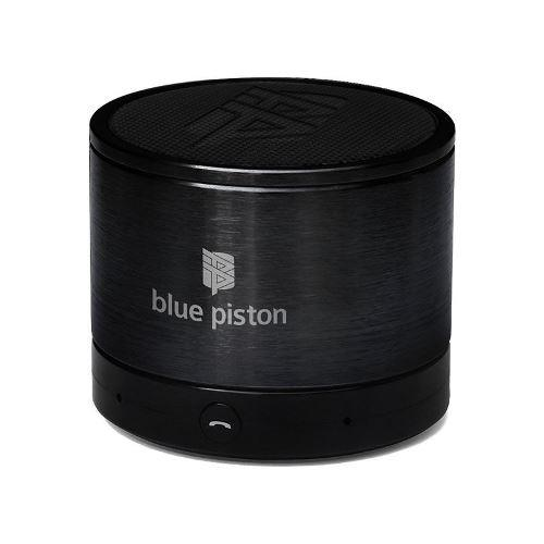 LOGiiX Blue Piston Wireless Rechargeable Speaker - Black
