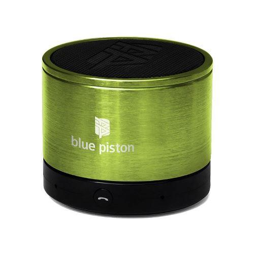 LOGiiX Blue Piston Wireless Rechargeable Speaker - Lime
