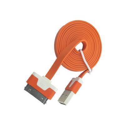 4XEMiPad / iPhone / iPod charging / data cable - USB 2.0 - 3 ft(4XI4CBLFLTOR)