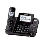 KX-TG9541 - Cordless phone - answering system - Bluetooth interface with caller ID/call waiting - DECT 6.0 - 2-line operation