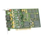 D 4PCIU4SEQEU - Voice interface card - PCIe x1 - analog ports: 4