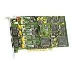JCT Media Board D4PCIUFEQEU - Loop start interface board - PCI - analog ports: 4