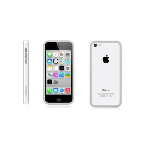 MacAlly Peripherals Dual Tone Protective Frame Case - White - iPhone 5c
