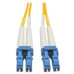 20M Duplex Singlemode 8.3/125 Fiber Optic Patch Cable LC/LC 66' 66ft 20 Meter - Patch cable - LC single-mode (M) to LC single-mode (M) - 66 ft - fiber optic - 8.3 / 125 micron - riser - yellow