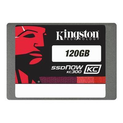 Kingston Digital SSDNow KC300 - solid state drive - 120 GB - SATA-600 (SKC300S37A/120GBK)