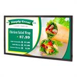 "Simplicity Series SL4250 - 42"" Class (42"" viewable) LED display - digital signage - 1080p (Full HD) 1920 x 1080 - edge-lit"