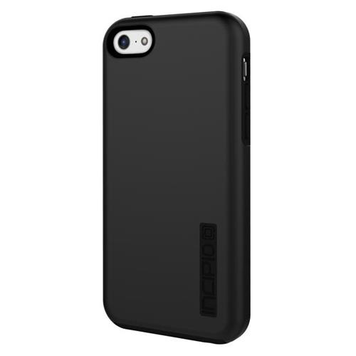 Incipio DualPro Hard-Shell Case with Silicone Core for iPhone 5c - Black/Black