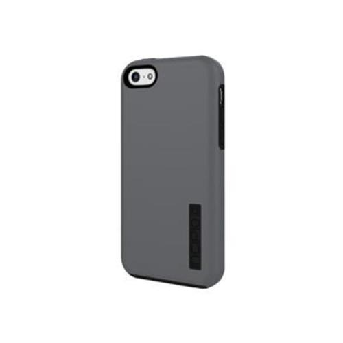 Incipio DualPro Hard Shell Case with Impact Absorbing Core Case for iPhone 5c - Gray / Gray