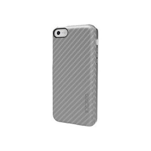 Incipio feather CF Ultra Thin Shell with Carbon Fiber Finish Case for iPhone 5c - Silver