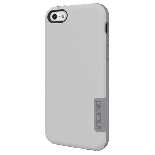 Incipio [OVRMLD] Flexible Hard Shell Case for iPhone 5c - White / Gray