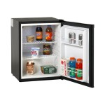 AR2416B - Refrigerator - freestanding - width: 18.7 in - depth: 18.7 in - height: 25.2 in - 2.1 cu. ft - black
