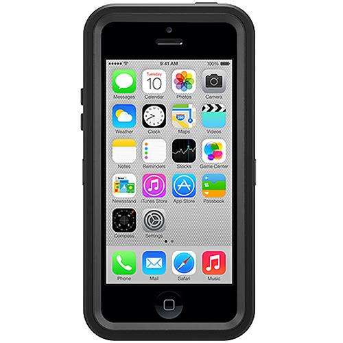 Otterbox Defender Series Hybrid Case & Holster for iPhone 5c - Black