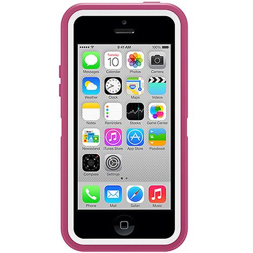 Otterbox Defender Series Hybrid Case & Holster for iPhone 5c - Papaya