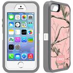 Otterbox Defender Realtree Series Hybrid Case & Holster for iPhone 5 & 5s - AP Pink 77-33390