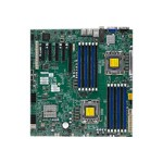 SUPERMICRO X9DBI-TPF - Motherboard - extended ATX - LGA1356 Socket - 2 CPUs supported - C602 - 10 Gigabit LAN, 2 x Gigabit LAN - onboard graphics