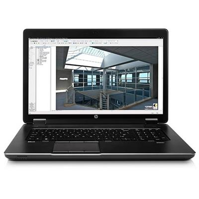 HP Smart Buy ZBook 17 Intel Core i7-4700MQ Quad-Core 2.40GHz Mobile Workstation - 8GB RAM, 750GB HDD, 17.3