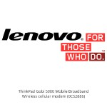 ThinkPad Gobi 5000 Mobile Broadband - Wireless cellular modem - 4G LTE - M.2 Card - AT&T - CRU - for ThinkPad L440; T431s; T440; T440p; T440s; T530; T540p; W541
