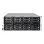 Supermicro SC847 E26-R1K28WB - Rack-mountable - 4U - extended ATX - SATA/SAS - hot-swap 1280 Watt - black